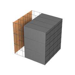 <b>Performance thermique : </b>R>9,07 U<0,11<br> <b>Parois intérieures:</b><br> Fibro Ciment<br> <b>Voile béton :</b><br> de 15 cm, 20cm<br>   <b>Parois extérieures: </b><br>30cm PSE graphité