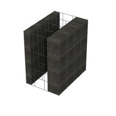 <b>Performance thermique : </b>R>3,86 U<0,26<br> <b>Parois intérieures:</b><br>5cm Verre Cellulaire<br> <b>Voile béton :</b><br> de 15 cm, 20cm<br>   <b>Parois extérieures: </b><br>10cm Verre Cellulaire