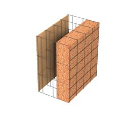 <b>Performance thermique : </b>R>4,39 U<0,23<br> <b>Parois intérieures:</b><br> Fibro Ciment<br> <b>Voile béton :</b><br> de 15 cm, 20cm<br>   <b>Parois extérieures: </b><br>10cm Résol