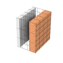 <b>Performance thermique : </b>R>5,66 U<0,18<br> <b>Parois intérieures:</b><br> 5cm PSE blanc<br> <b>Voile béton :</b><br> de 15 cm, 20cm<br>   <b>Parois extérieures: </b><br>10cm Résol