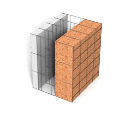 <b>Performance thermique : </b>R>7,30 U<0,14<br> <b>Parois intérieures:</b><br> 5cm PSE blanc<br> <b>Voile béton :</b><br> de 15 cm, 20cm<br>   <b>Parois extérieures: </b><br>14cm Résol