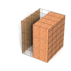 <b>Performance thermique : </b>R>8,85 U<0,12<br> <b>Parois intérieures:</b><br> Fibro Ciment<br> <b>Voile béton :</b><br> de 15 cm, 20cm<br>   <b>Parois extérieures: </b><br>20cm Résol